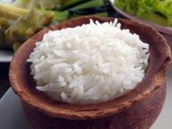 Cooked Jasmine Rice