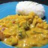 Thai Coconut Chicken & Potato Curry (Medium Spicy, Gluten Free)