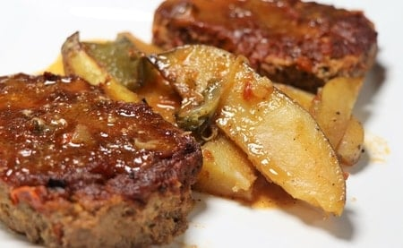 Eric's Kicked Up Meatloaf (Reduced Sodium, Reduced Fat)